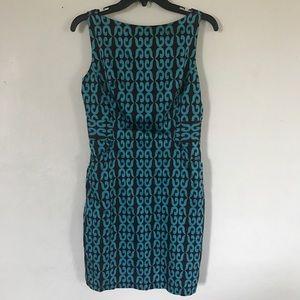 Milly New York Geo Print Sheath Dress